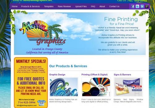 Aloha Graphics And Printing