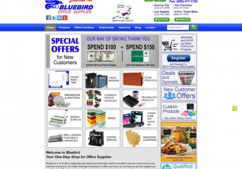 Blue Bird Office Supplies
