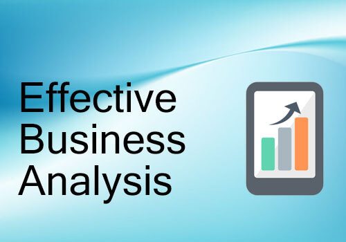 Effective Business Analysis
