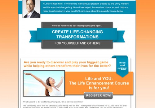 Create Life-Changing Transformations