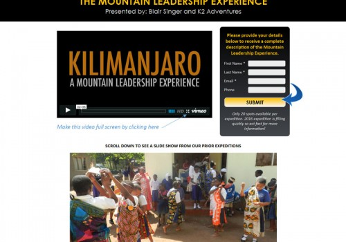 The Mountain Leadership Experience