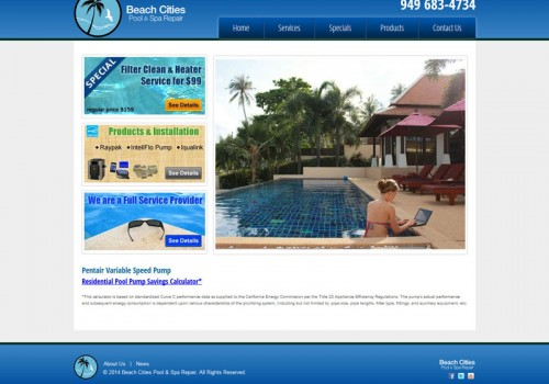Beach Cities Pool & Spa Repair